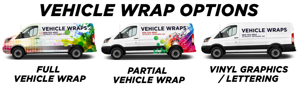 Denver Vehicle Wraps & Graphics vehicle wrap options
